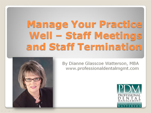 dental staffing webinar
